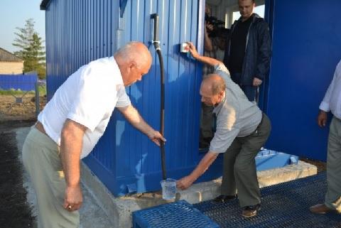 ВНовосибирской области запустили модульную станцию водоочистки